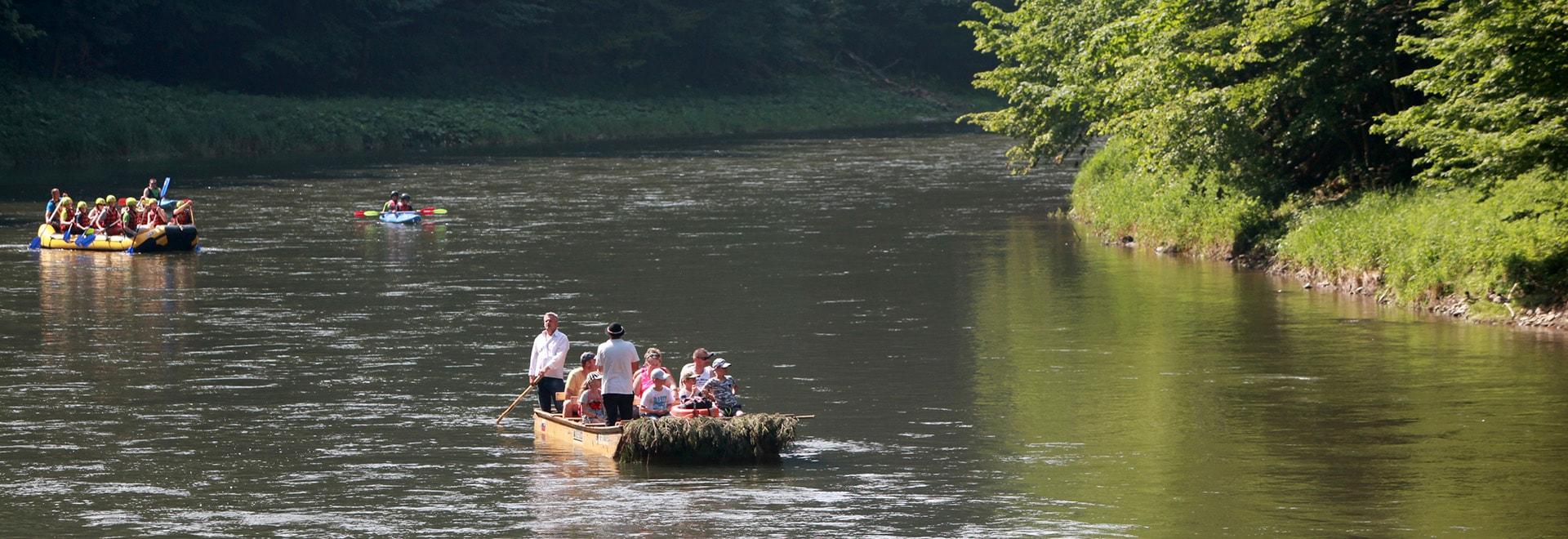 Spływ Dunajcem dla Grup