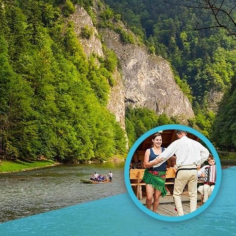 Spływ tratwami Dunajec